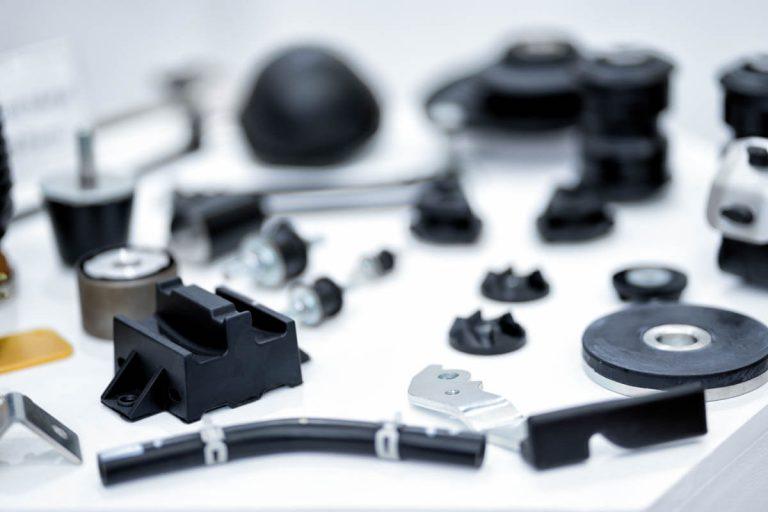 2-Komponenten Gummi-Metall-Teile